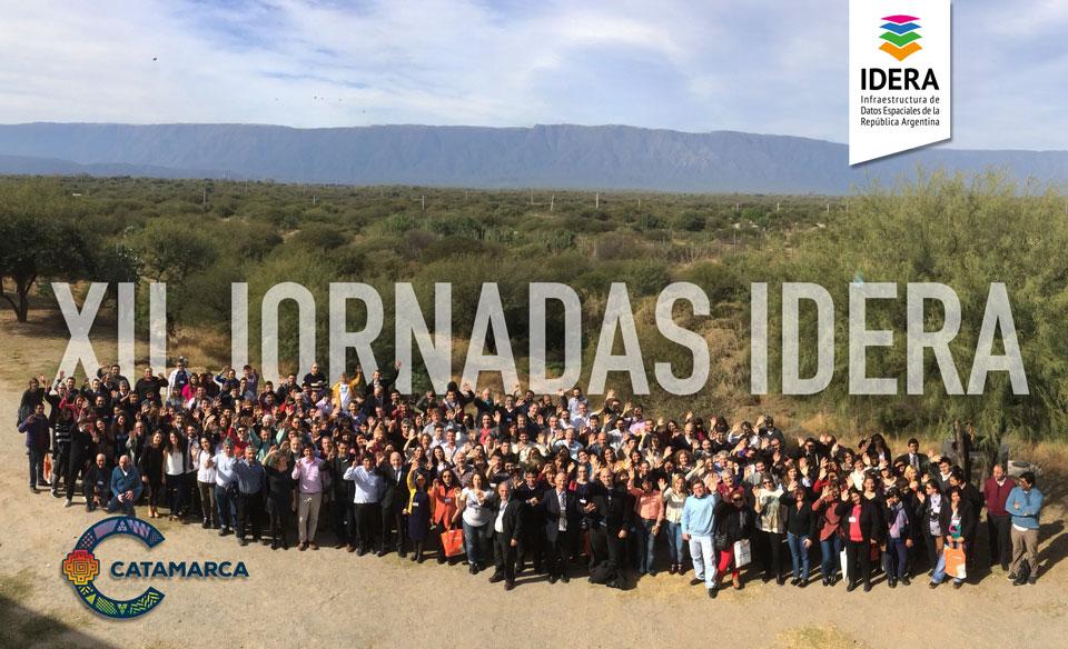 Integrantes de GeoSPlan participaron en las XII Jornadas IDERA
