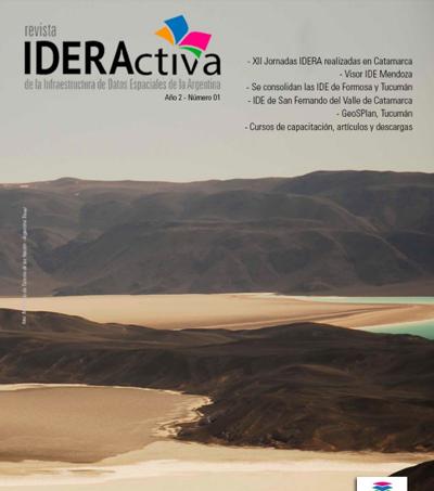 GeoSPlan en la Revista de IDERA 2017