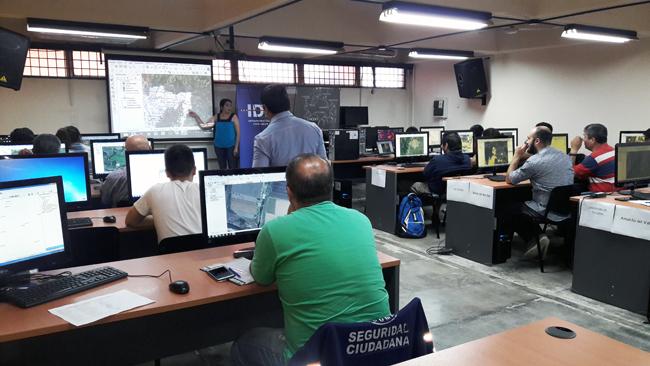 GeoSPlan participó en el dictado del taller de elaboración de mapas de riesgo a nivel local