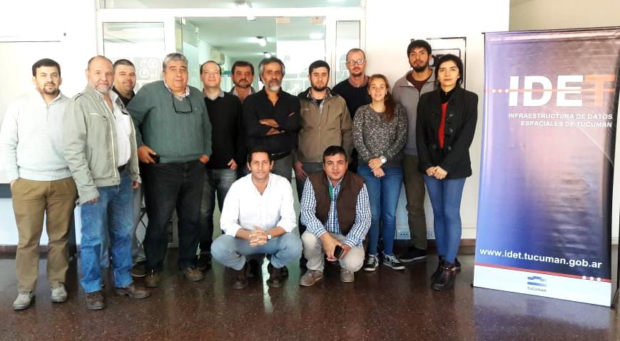 Integrante de GeoSPlan dictó taller de capacitación