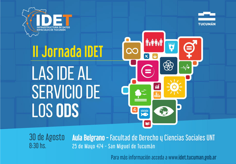 Invitación a las II Jornadas IDET