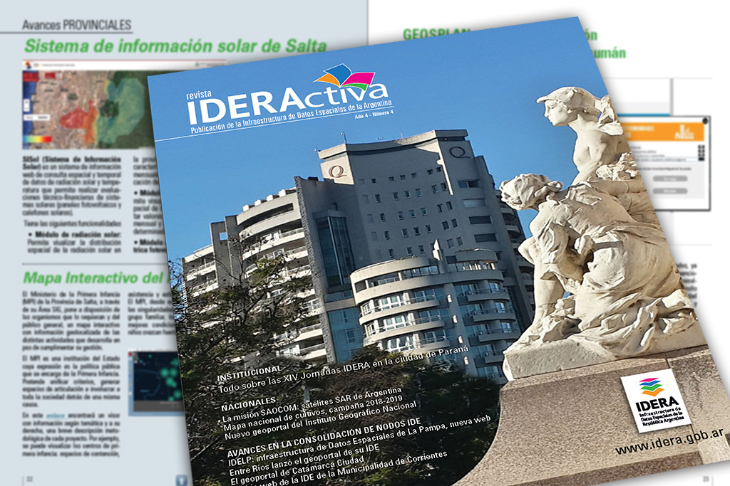 Artículo sobre GeoSPlan en la revista de IDERA