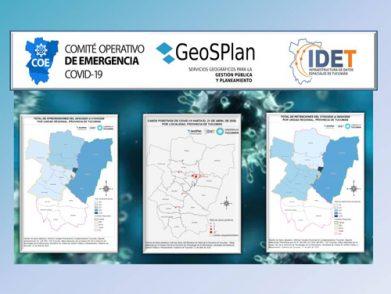 GeoSPlan georreferencia indicadores para el COE COVID-19 de Tucumán